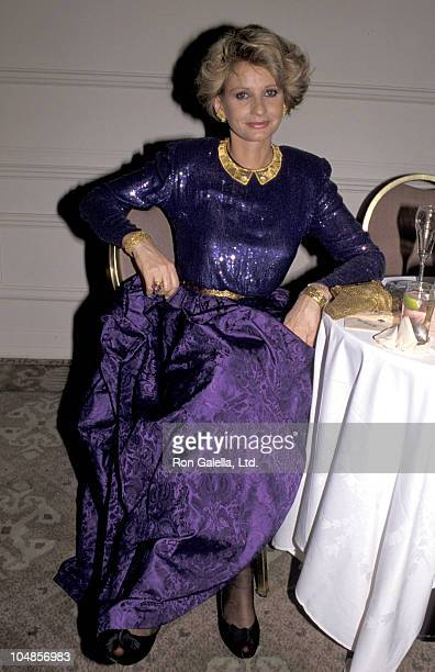 Jill Ireland during American Ireland Fund Premiere Heritage Awards Dinner at Beverly Hilton Hotel in Beverly Hills CA United States
