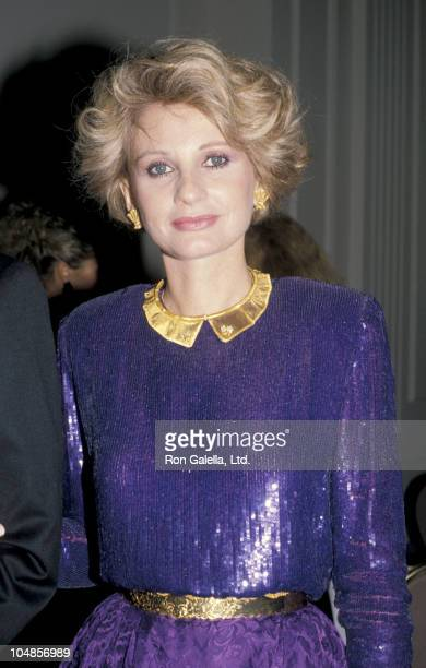 Jill Ireland during American Ireland Fund Premiere Heritage Awards Dinner at Beverly Hilton Hotel in Beverly Hills, CA, United States.