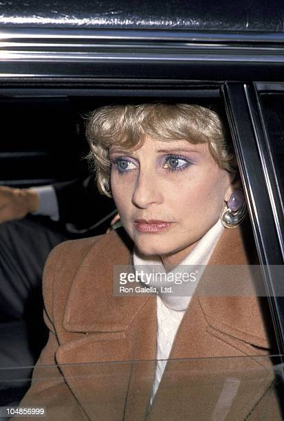 "Jill Ireland during Dedication ceremony for ""The Garden of Hope"" at Central Park in New York City, NY, United States."