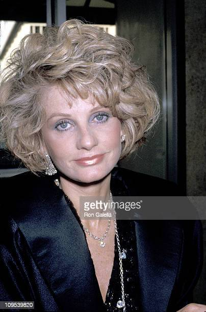 Jill Ireland during Friars Club Tribute to Liza Minnelli, 1987 at Century Plaza Hotel in Century City, California, United States.