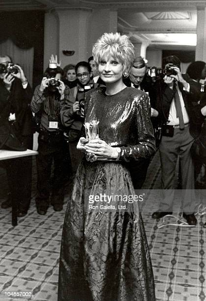 Jill Ireland during The Garden of Hope Ball To Benefit The Preventative Medicine Institute at Waldorf Astoria in New York City NY United States