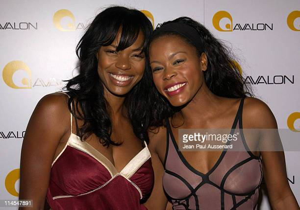 Jill Jones and Golden Brooks during Avalon Hollywood Grand Opening Arrivals at Avalon in Hollywood California United States