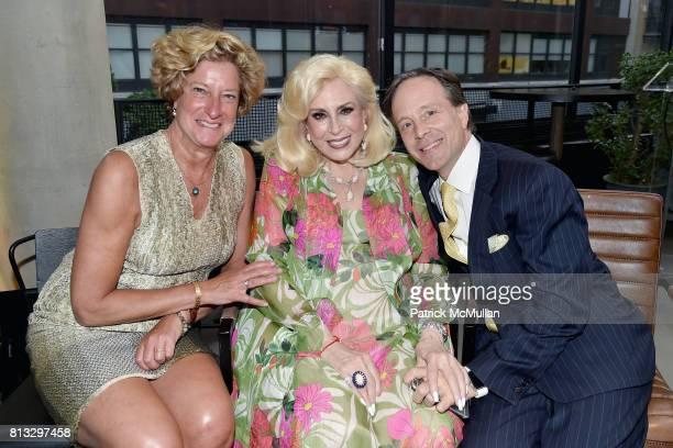 Jill Kalman Harriette Rose Katz and Dr Adam Rosenbluth attend The Chosen Few's Third Anniversary Hosted by Harriette Rose Katz at Second on July 11...