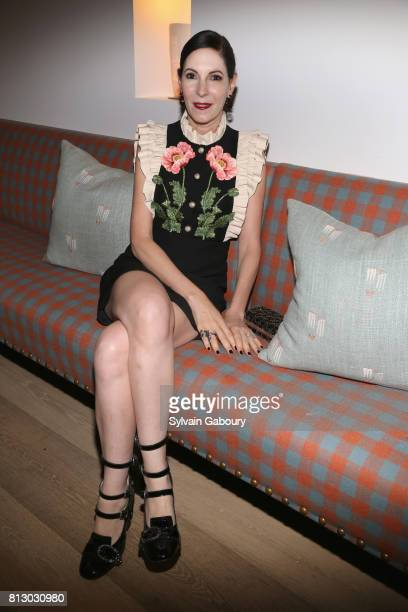 Jill Kargman attend The Cinema Society Kargo host the aftser party for the Season 3 Premiere of Bravo's 'Odd Mom Out' on July 11 2017 in New York City