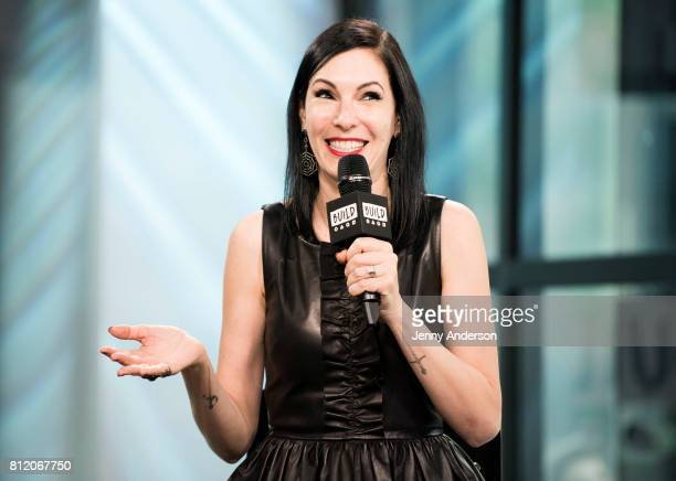 Jill Kargman attends AOL Build Series at Build Studio on July 10 2017 in New York City