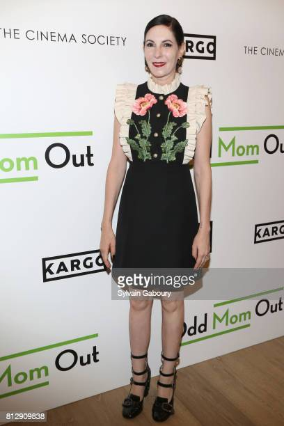 Jill Kargman attends The Cinema Society Kargo host the Season 3 Premiere of Bravo's 'Odd Mom Out' on July 11 2017 in New York City