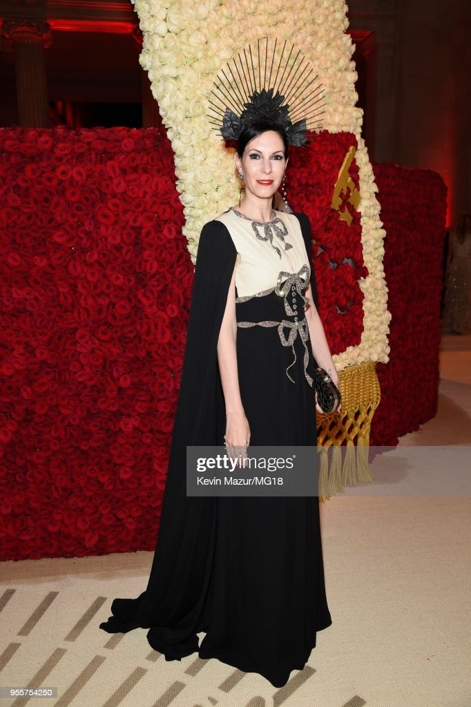 Jill Kargman attends the Heavenly Bodies: Fashion & The Catholic Imagination Costume Institute Gala at The Metropolitan Museum of Art on May 7, 2018 in New York City.
