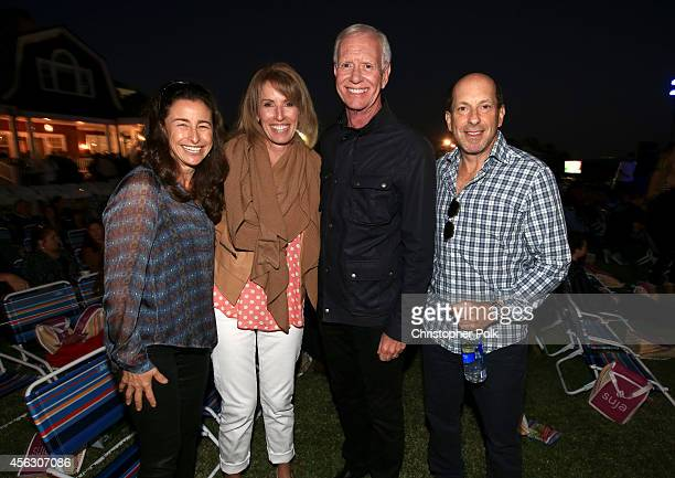 Jill Liebman Lorrie Sullenberger Sully Sullenberger and producer Jon Liebman attend Rock4EB Malibu with Jackson Browne David Spade sponsored by Suja...