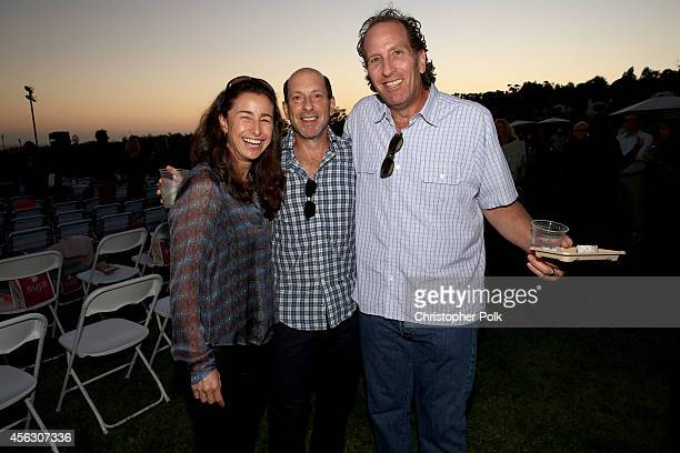 Jill Liebman producer Jon Liebman and producer Lloyd Braun attend Rock4EB Malibu with Jackson Browne David Spade sponsored by Suja Juice Sabra Hummus...