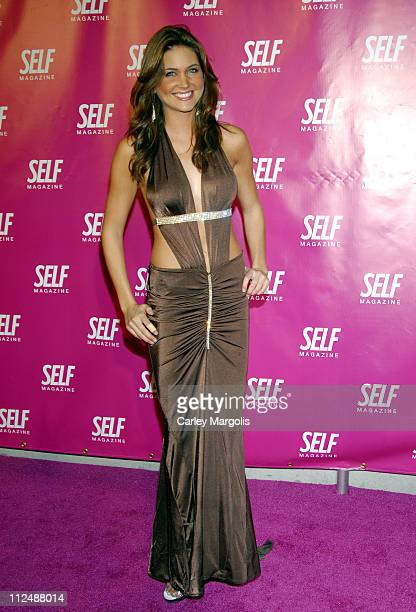 Jill Marie Gulseth during SELF Magazine Introduces Self Spotlight A FirstEver Benefit to Support Breast Cancer Awareness at Crobar in New York City...