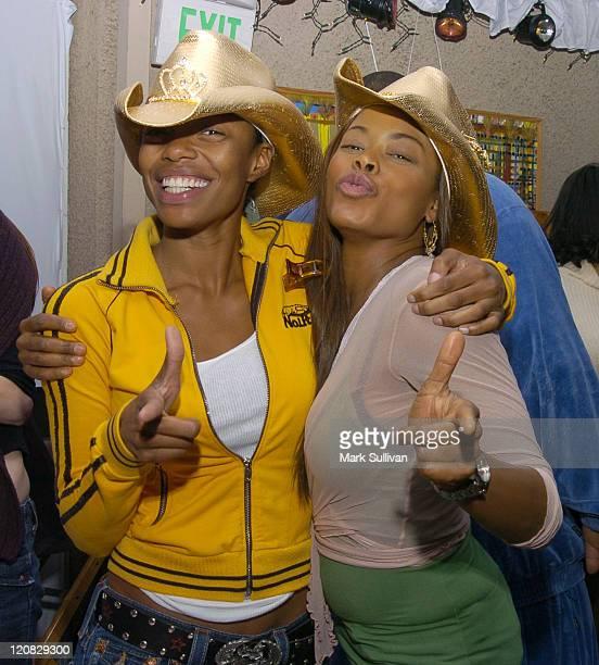 Jill Marie Jones and Golden Brooks in Backstage Creations Talent Retreat