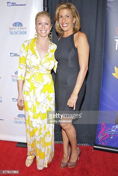 Jill Martin and Hoda Kotb attend Garden of Dreams Foundation Children Talent Show at Radio City Music Hall on June 18 2015 in New York City