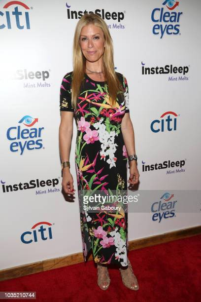 Jill Martin attends Clear Eyes Partners With The Nolcha Shows To Showcase Emerging Designers' #MyShiningMoment at West Edge on September 6 2018 in...