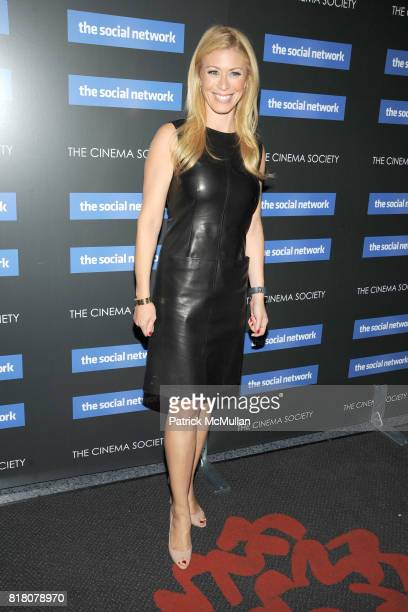 Jill Martin attends COLUMBIA PICTURES THE CINEMA SOCIETY host a screening of THE SOCIAL NETWORK at The SVA Theater on September 29 2010 in New York...