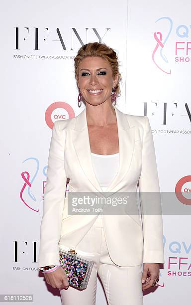 Jill Martin attends FFANY Shoes On Sale hosted by QVC on October 25 2016 in New York City