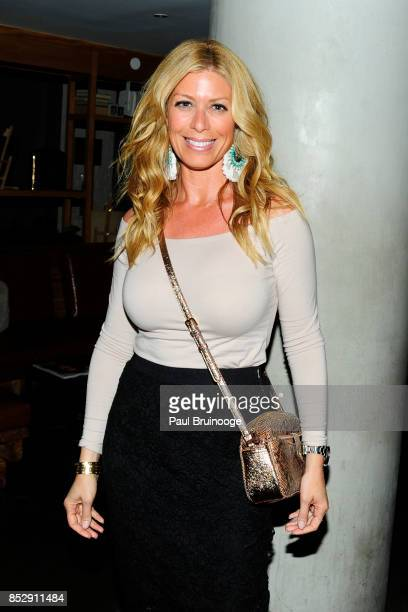 Jill Martin attends NBC Vanity Fair host a party for Will Grace at Mr Purple at the Hotel Indigo LES on September 23 2017 in New York City