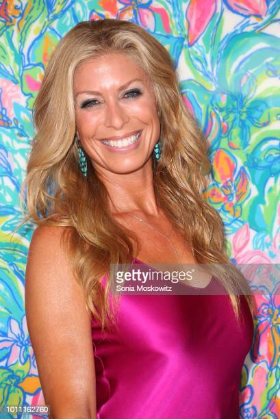 Jill Martin attends the2018 Hamptons Paddle Party for Pink to benefit the Breast Cancer Research Foundation on August 4 2018 in Sag Harbor New York