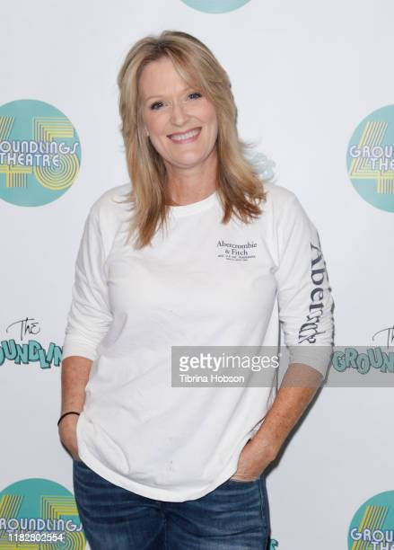 Jill MatsonSachoff attends The Groundlings Theatre 45th anniversary sketch comedy show at The Groundlings Theatre on October 22 2019 in Los Angeles...
