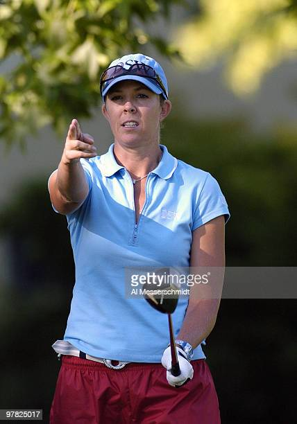 Jill McGill competes in the secondround of the 2004 McDonald's LPGA Championship at DuPont Country Club Wilmington Delaware June 12 2004