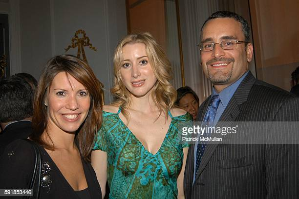Jill Meenaghan Alexis Bryan and Dan Borchert attend Ronald Winston And Vanity Fair Host The Launch of Darcie Denkert's New Book 'A Fine Romance' at...