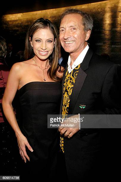 Jill Nicolini and Giulio Manfredi attend MANFREDI JEWELERS Park Avenue Boutique Opening at Manfredi Jewelers on September 20 2007 in New York City