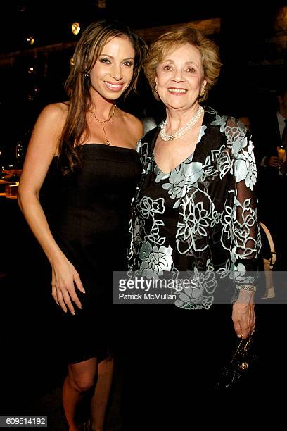 Jill Nicolini and Matilda Cuomo attend MANFREDI JEWELERS Park Avenue Boutique Opening at Manfredi Jewelers on September 20 2007 in New York City