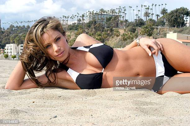 Jill Nicolini at the Santa Monica Beach in Santa Monica California
