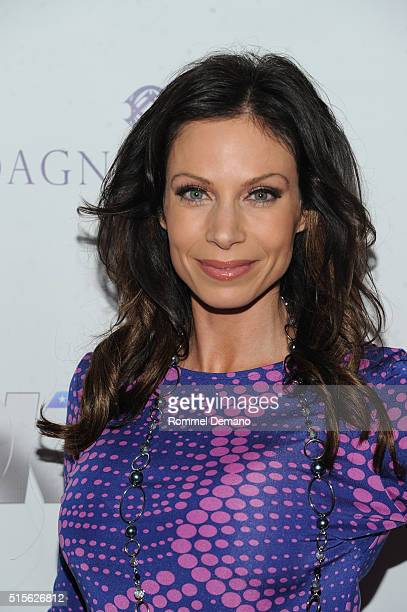 Jill Nicolini attends BELLA New York March/April 2016 Ladies Night Out cover launch party at Punto Space on March 14 2016 in New York City