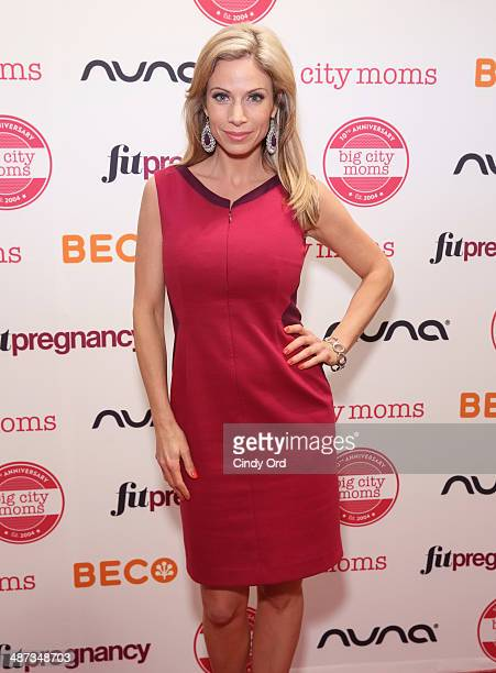 Jill Nicolini attends Big City Moms Biggest Baby Shower on April 29 2014 in New York City