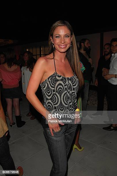 Jill Nicolini attends HUGO BOSS and INTERVIEW host advance screening of JOE STRUMMER THE FUTURE IS UNWRITTEN at HUGO BOSS ROOFTOP NYC on August 1 2007