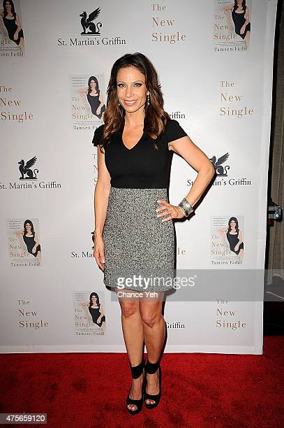 Jill Nicolini attends Tamsen Fadal's The New Single Finding Fixing Falling Back In Love With Yourself book launch party at Urbo NYC on June 2 2015 in...