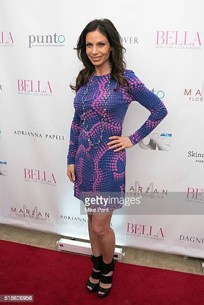 Jill Nicolini attends the BELLA New York March/April 2016 Ladies Night Out cover launch party at Punto Space on March 14 2016 in New York City