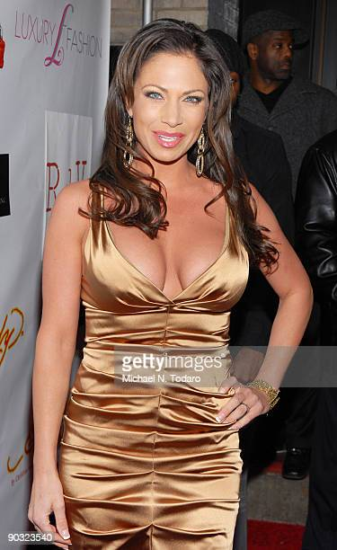Jill Nicolini attends the LuxuryFashioncom Faces of Fashion Week soiree at RDV on February 17 2009 in New York City