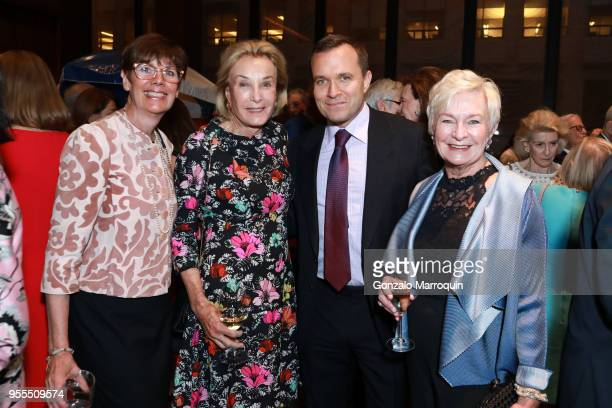 Jill O'DonnellTormey Elaine Langone Greg Kelly and Veronica Kelly during the Through The Kitchen Benefit For Cancer Research Institute on May 6 2018...