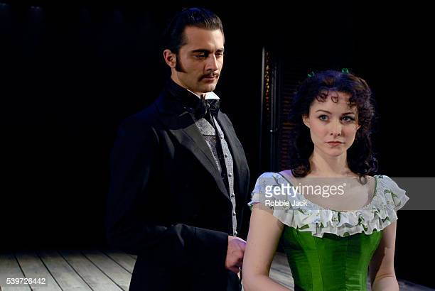 Jill Paice and Darius Danesh in the production of Gone With The Wind at the New London Theatre in London