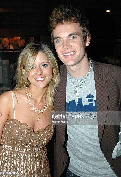 Jill Reno and Tyler Hilton during Golden Globes Style Lounge Presented by Kari Feinstein PR - Day 2 in Los Angeles, California, United States.