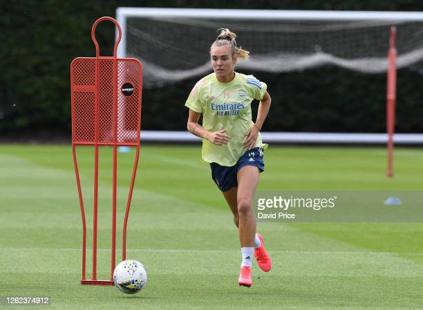 Jill Roord of Arsenal during the Arsenal Women training session at Arsenal Academy on July 29 2020 in Walthamstow England