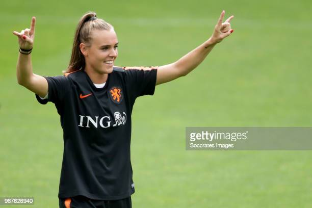 Jill Roord of Holland Women during the Training Holland Women at the KNVB Campus on June 5 2018 in Zeist Netherlands