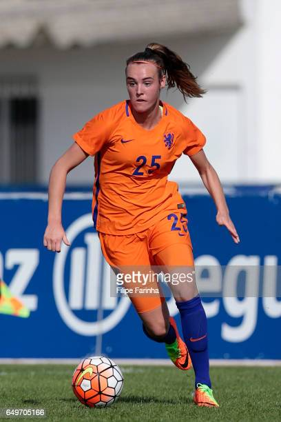 Jill Roord of Netherlands during the Algarve Cup Tournament Match between Sweden W and Netherlands W on March 6 2017 in Lagos Portugal