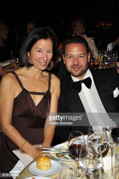 Jill Roosevelt and Alvin Valley attend Silver Hill Hospital 80th Anniversary Gala at Cipriani 42nd Street on November 11 2010 in New York City