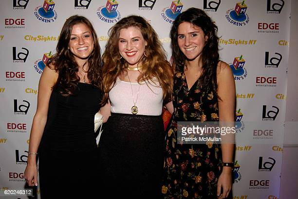 Jill Rudnitzkey, Melanie Weinstein and Mala Hertz attend Young Leadership Inaugural Back To School Gala at Jewish Childrens Museum on November 13,...