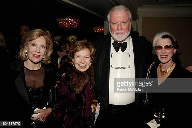 Jill Sackler Shelby White and Edie Holbrook attend The Russian National Orchestra's 15th Anniversary Gala at St Regis Roof Ballroom on March 7 2006...