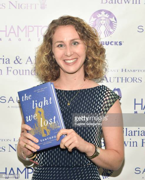 Jill Santopolo attends Authors Night 2017 At The East Hampton Library at The East Hampton Library on August 12 2017 in East Hampton New York