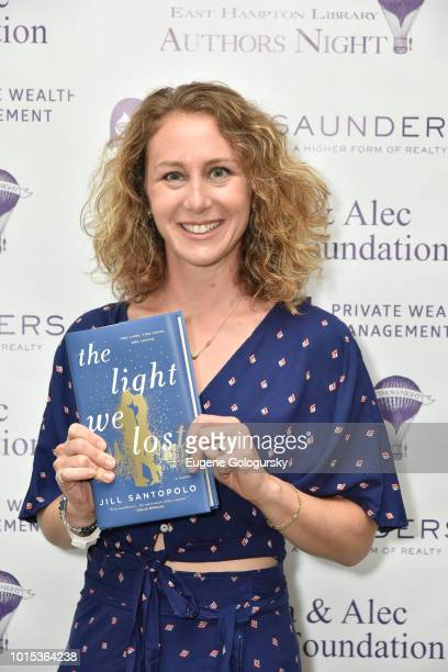Jill Santopolo attends Authors Night At East Hampton Library on August 11 2018 in East Hampton New York