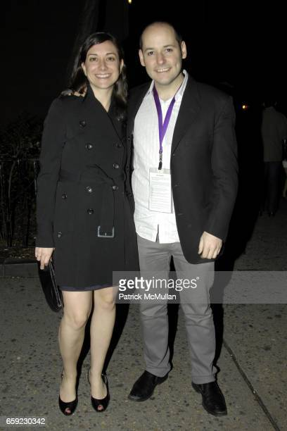 Jill Schweitzer and Tom Donahue attend THE BOOST MOBILE FILM LOUNGE preparty and arrivals for the GUEST OF CINDY SHERMAN screening at 1 Oak and 66th...