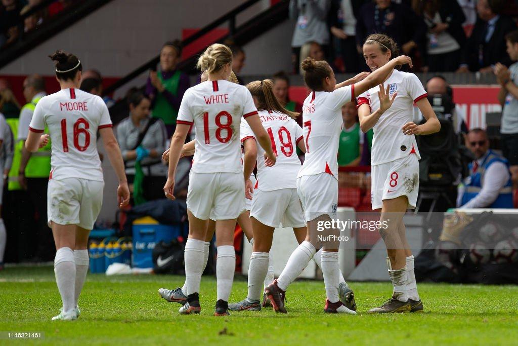 England Women v Denmark Women - International Friendly : News Photo