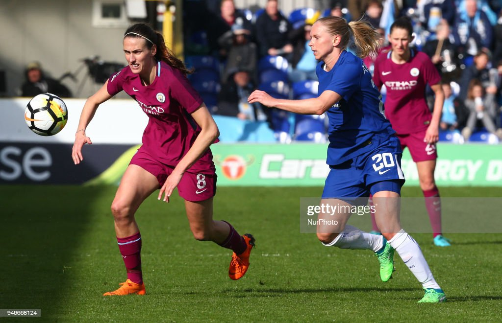 Chelsea Ladies v Manchester City Women - Women's FA Cup Semi Final