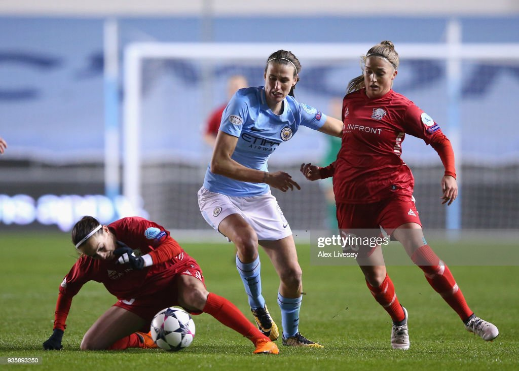 Manchester City Women v Linkoping - UEFA Women's Champions League