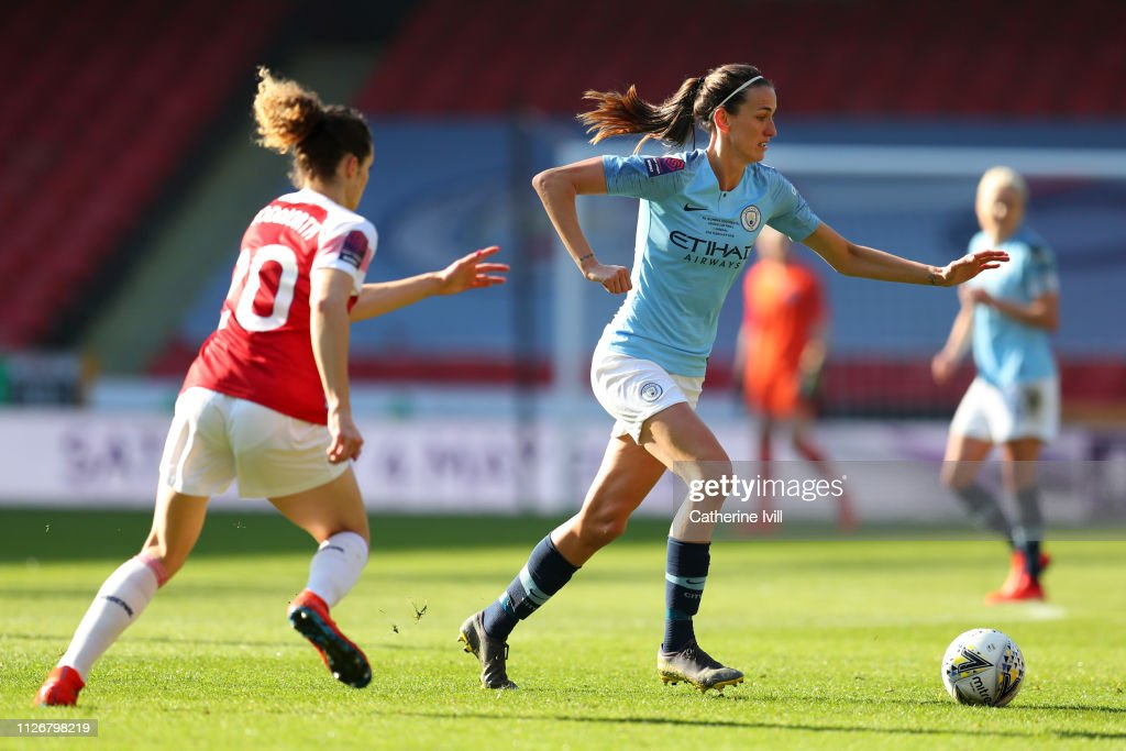 GBR: Arsenal v Manchester City Women - FA Women's Continental League Cup Final