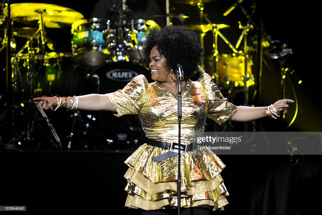Jill Scott performs in advance of her The Light of The Sun release at Oracle Arena on June 4, 2010 in Oakland, California.